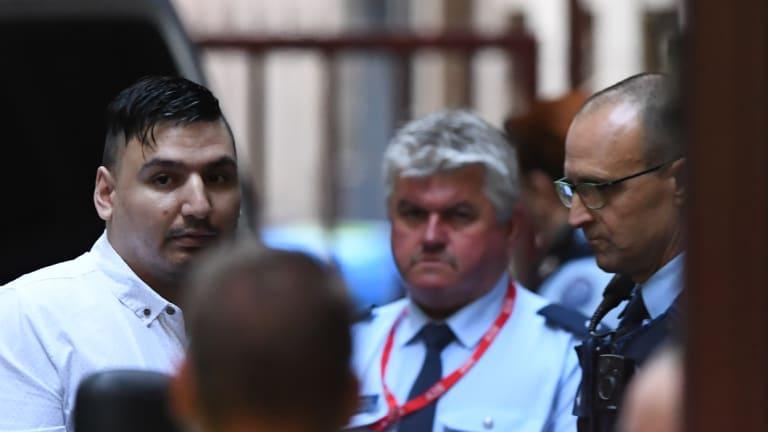 James Gargasoulas arrives at court on November 8, 2018.