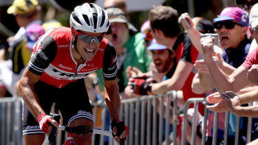 Richie Porte: 'To be fair to [Woods], he was probably the stronger rider of the two of us here.'