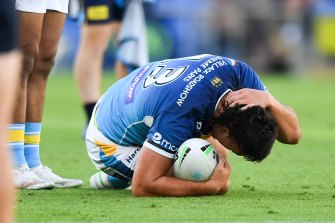 NRL injury.