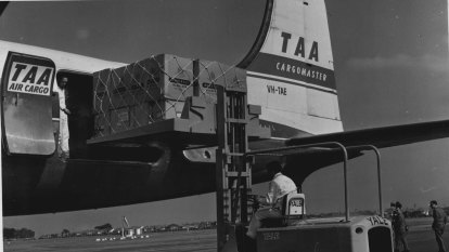 From the Archives, 1969: All the way with TAA - locked in the luggage hold
