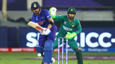 Virat Kohli  top-scored for India with 57.