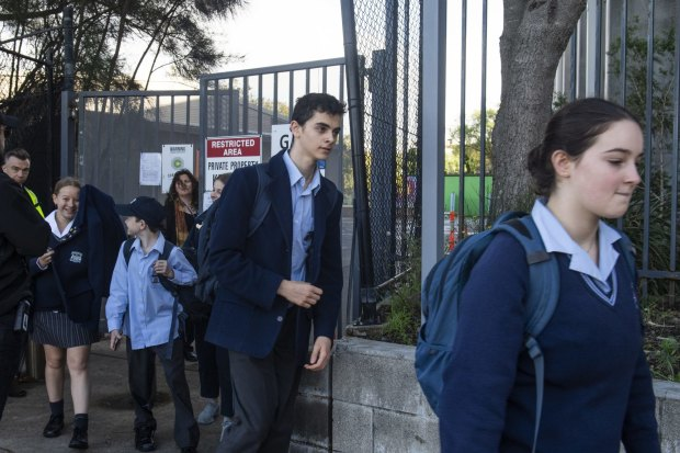 Parents urged to stick by health guidelines after school evacuations