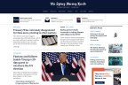 New homepage of The Sydney Morning Herald, which launched on 10 November, 2020.