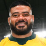 Tolu Latu was named man of the match in Australia's 39-21 victory over Fiji in Sapporo.