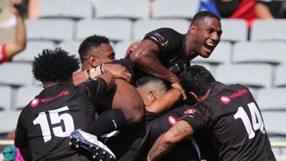 Kikau sparks early blitz as Fiji stun Samoa