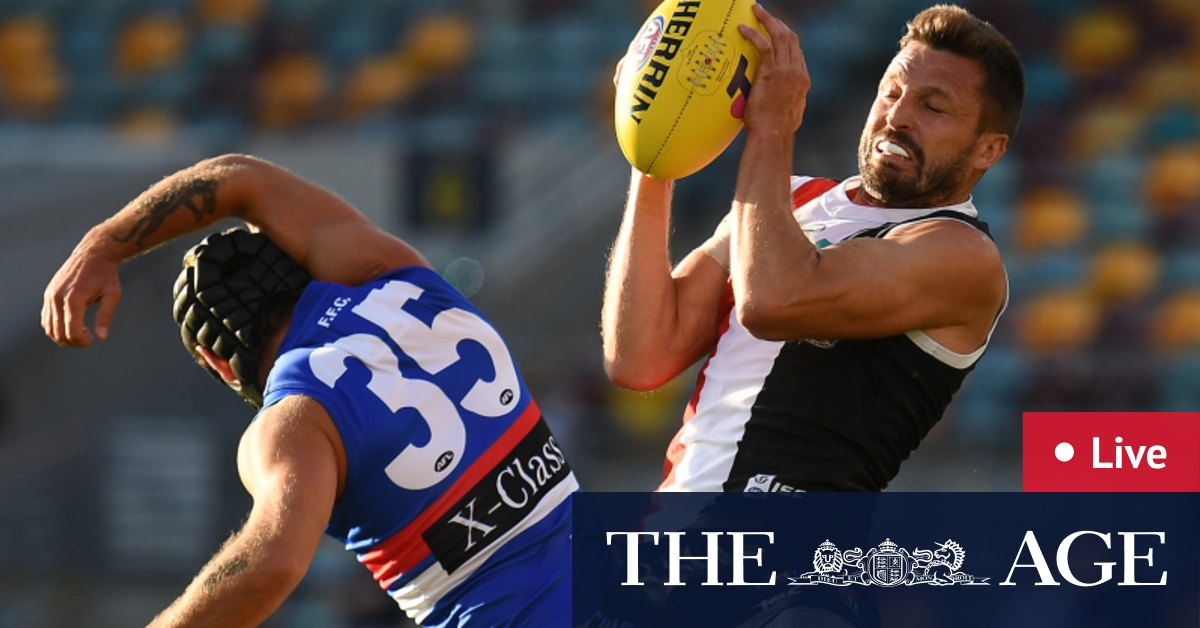 AFL finals 2020 LIVE updates: Sizzling St Kilda Saints burst clear of Western Bulldogs Ben Long in hot water Zaine Cordy injured – The Age