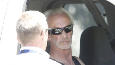 Graham Leslie White, who has been linked to chemical waste dumps in Melbourne and Kaniva.