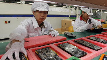 A Foxconn factory in Guangdong province has been ordered to close until February 10.