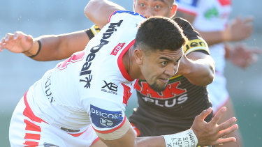 The Dragons said the club would not comment further on the incident involving Tim Lafai.