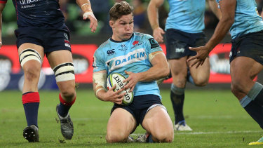Needs a rest: Michael Hooper is among the Waratahs stars Daryl Gibson is required to leave out for one of the last two matches.