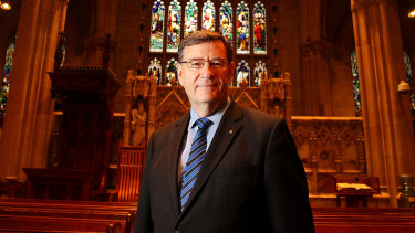 Anglican Archbishop of Sydney Glenn Davies used his final Synod address to demand reformers leave the church.