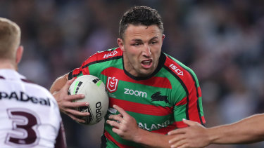 Sam Burgess is still expected to front Todd Greenberg before South Sydney's grand final qualifier against the Canberra Raiders.