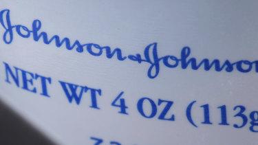 Johnson & Johnson Baby Powder.