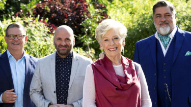 Tried and tested: Maggie Beer is a regular at the MasterChef studio.