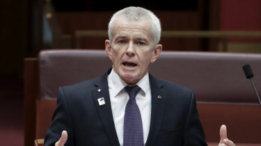 One Nation senator Malcolm Roberts says Queenslanders did not elect Dr Young to make such far-reaching decisions for the state.