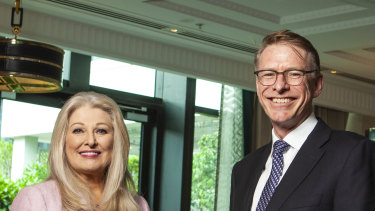 Ken Barton and Helen Coonan were promoted to the roles of chief executive and chairwoman at Crown Resorts on Friday.