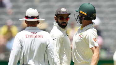 Virat Kohli and Tim Paine will resume hostilities when the first Test starts on December 17.