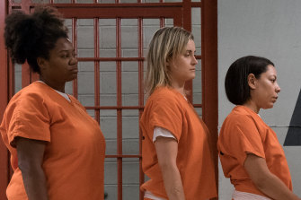 Bad to the bone: a scene from Orange is the New Black.