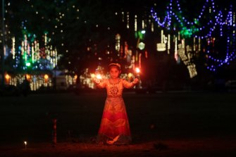 Diwali in Mumbai, 2018.