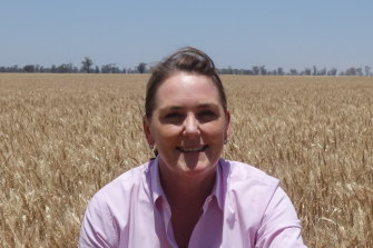 Elizabeth O'Leary, head of agriculture at Macquarie Infrastructure and Real Assets, straddles the worlds of high finance and farming.
