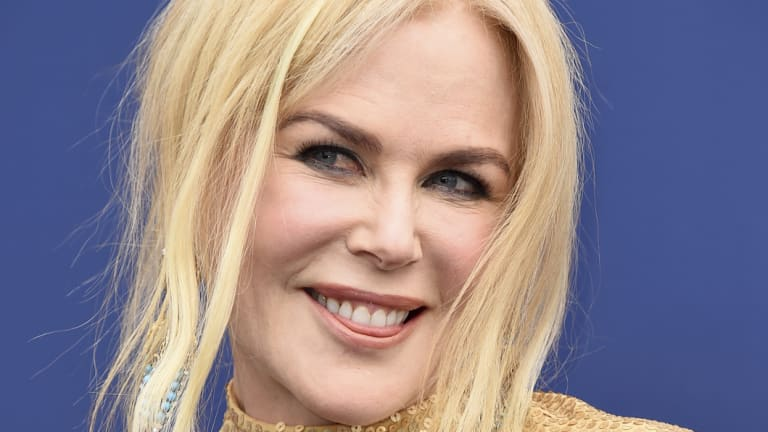 Nicole Kidman, pictured at Sunday's Country Music Awards, has been named among Time's 100 most influential people of 2018.