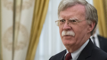United States National Security adviser John Bolton met Eurosceptic figures without the knowledge of the Prime Minister's office.