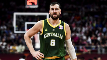 Andrew Bogut was public enemy number one in China.