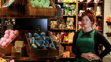 Lush Australia director Peta Granger announces a $2m national back-pay scheme.