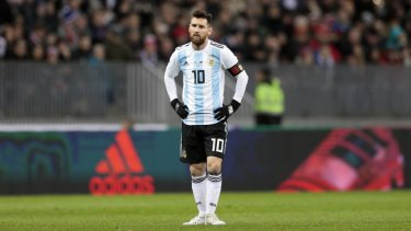 41cc80ed1 On a mission  Lionel Messi has done everything in football - except win the  World