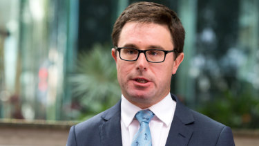 'This cannot go on': Agriculture Minister David Littleproud.
