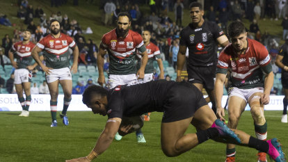 No protest and not much fight as Fiji flog Lebanon