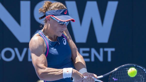 Sam Stosur and those incredible arms.