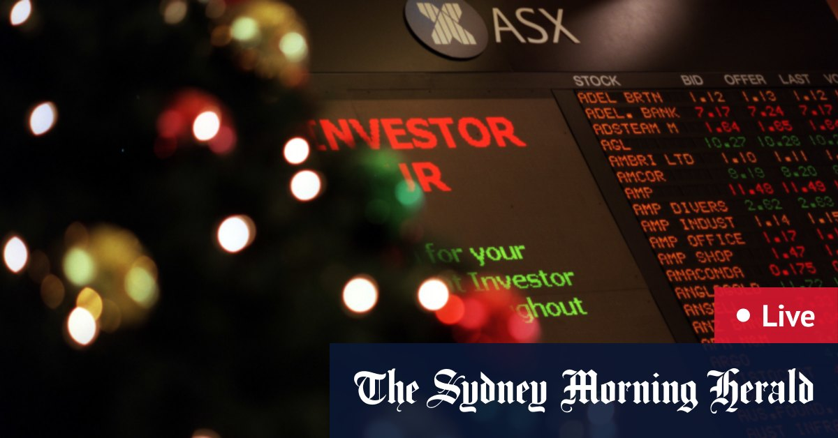 ASX gains 0.8 per cent; BHP restarts Samarco operations – The Sydney Morning Herald