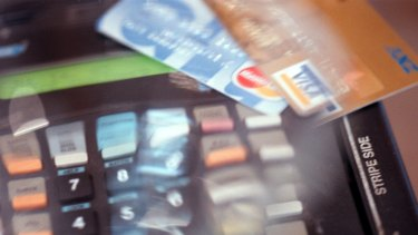 Card spending is showing signs of deterioration.