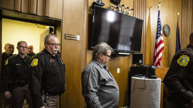 Jason Dalton enters the court room before pleading guilty.