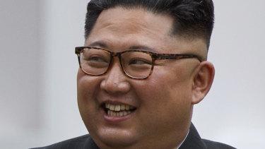 Kim Jong-un during the meeting with Donald Trump: North Korean media says he was the tough negotiator.