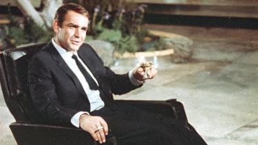 Shaken, not stirred: Sean Connery as James Bond.