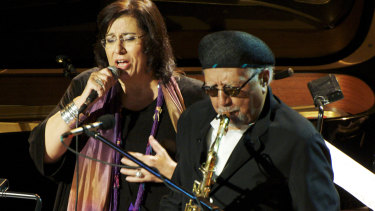 Charles Lloyd and Maria Farantouri - the collaboration was about expanding the art of both.