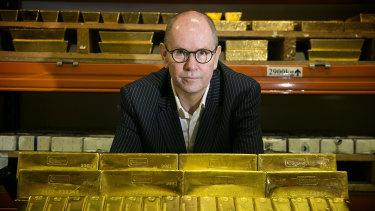 Perth Mint chief executive Richard Hayes.