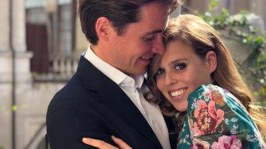 Princess Beatrice and Edoardo Mapelli Mozzi in Italy.
