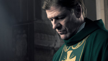 Sean Bean stars as Father Michael in Broken.