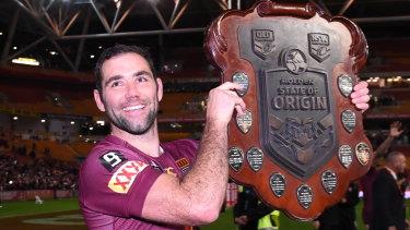 Cameron Smith was part of a golden era for the Queensland Origin team.