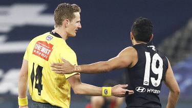 Will Carlton face back-to-back periods in quarantine?
