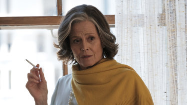 """Sigourney Weaver plays a literary agent guarding her most famous writer in My Salinger Year:  """"When I read the script, I just loved it.''"""
