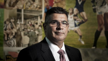 Andrew Demetriou has long denied having any involvement in the day-to-day management of Acquire and instead insists he was only a member of the group's advisory board.