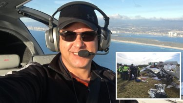Ben Berg nearly died in the wreckage of his light plane after crashing at Caloundra Airport a year ago.