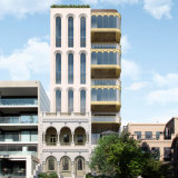An artist's impression of the proposed development at landmark East Melbourne mansion, Eblana.