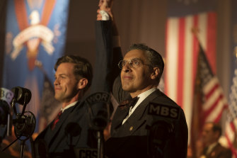 The Plot Against America explores what US society would look like if Charles Lindberg, a pro-fascist with anti-semitic views, won office.
