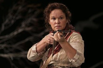 Managing to shoot before the pandemic shut down production: Leah Purcell in The Drover's Wife: The Legend of Molly Johnson.