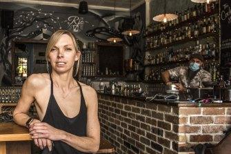 Tess Robens, owner of Summer Hill's Rio bar